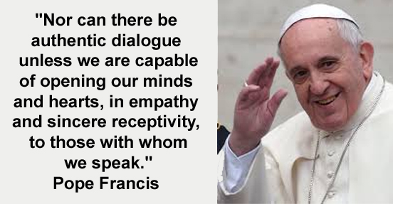 culture of empathy builder pope francis